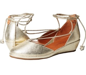 cc207e5ba9a Gentle Souls Beige By Kenneth Cole Morrie Sandals 692 Natural Leather Wedges.   78.19  209.99. US 9.5. On Sale. Gentle Souls gold Wedges