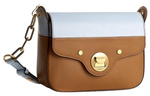 Coccinelle Classic Minimalist Leather Box Shoulder Bag