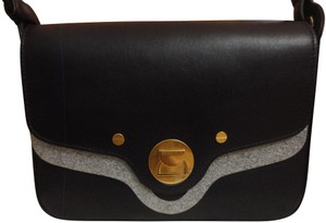 Coccinelle Minimalist Leather Simple Box Shoulder Bag