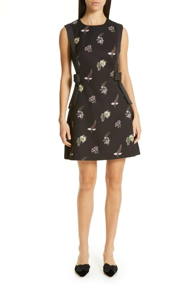 b1001e77ffaf Ted Baker Black Lalima Pirouette Bow Short Casual Dress Size 8 (M ...