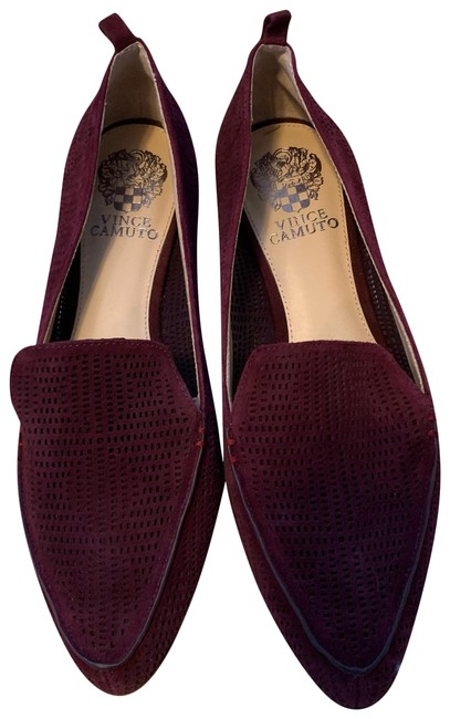 Item - Red New Breathable Oxblood Loafers Flats Size US 8.5 Regular (M, B)