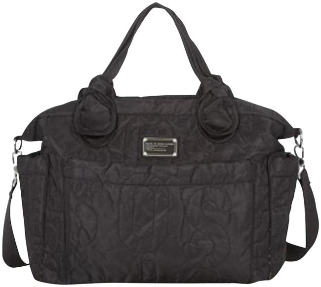 Item - Eliza XL Black Nylon Diaper Bag