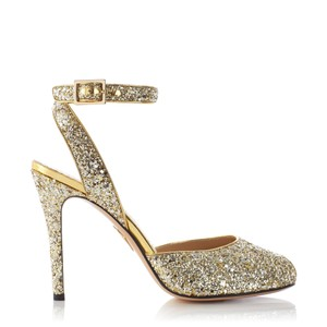 Charlotte Olympia Gold Sandals
