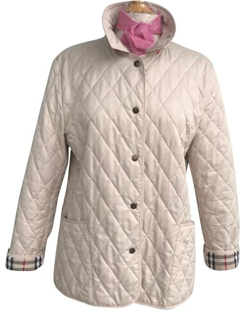 Item - Cream Constance Quilted Jacket Size 12 (L)