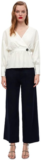 Item - Navy Trousers Pants Size 8 (M, 29, 30)