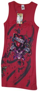 Ed Hardy Top red