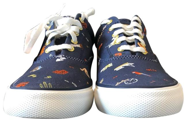 """Item - Blue X Rifle Paper Co. Limited Edition """"wanderlust"""" Sneakers Size US 6.5 Regular (M, B)"""