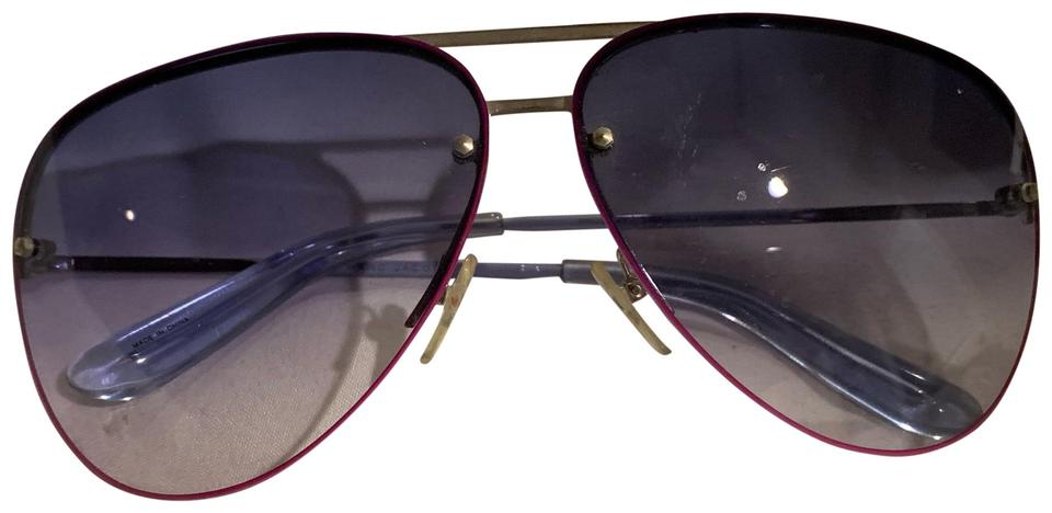 194907000bfc Marc by Marc Jacobs Blue and Pink Ombré Sunglasses - Tradesy