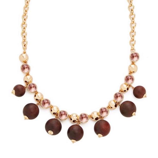 Item - Brown/Pink • Second Nature Statement Necklace