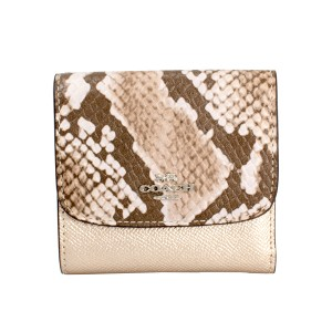 Coach Coach Leather Small Wallet