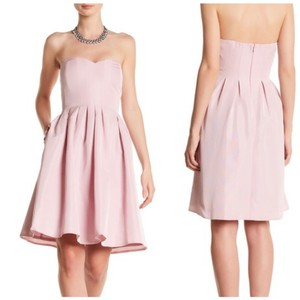 J.Crew Strapless Boning Faille Dress
