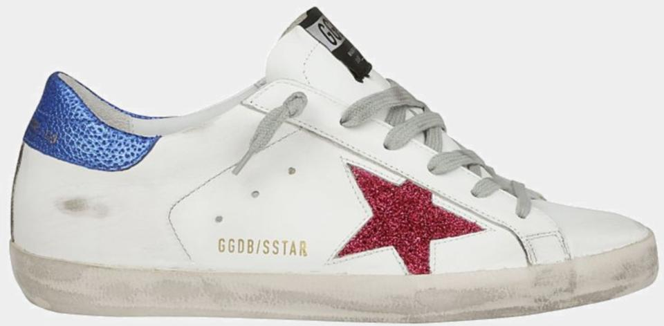 20fac5fbc574 Golden Goose Deluxe Brand White Fuxia Superstar Sneakers Sneakers ...