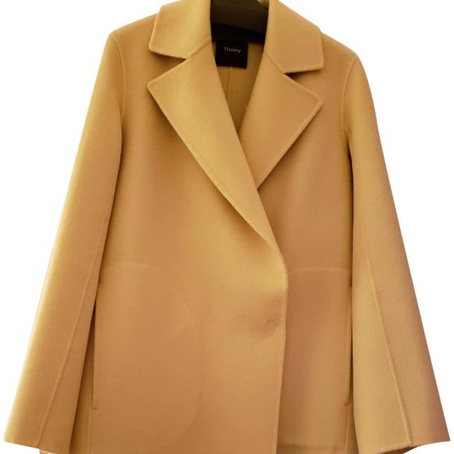 Item - Straw/Pale Yellow Boy Divide Luxe Coat Size Petite 4 (S)