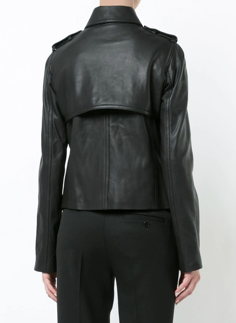 Vince Leather Jacket Image 10
