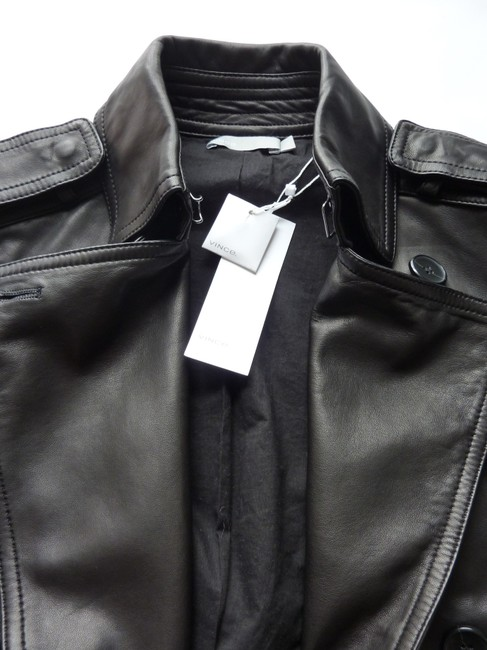 Vince Leather Jacket Image 11