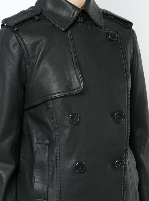 Vince Leather Jacket Image 7