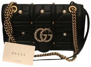 615cbc0bf3b1 Long Marmont Leather Zip Around Wallet. $620.00. Gucci Shoulder Bag -  recommended img. Gucci Shoulder Bag