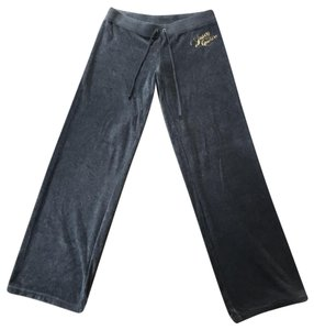 Juicy Couture Athletic Pants grey silver