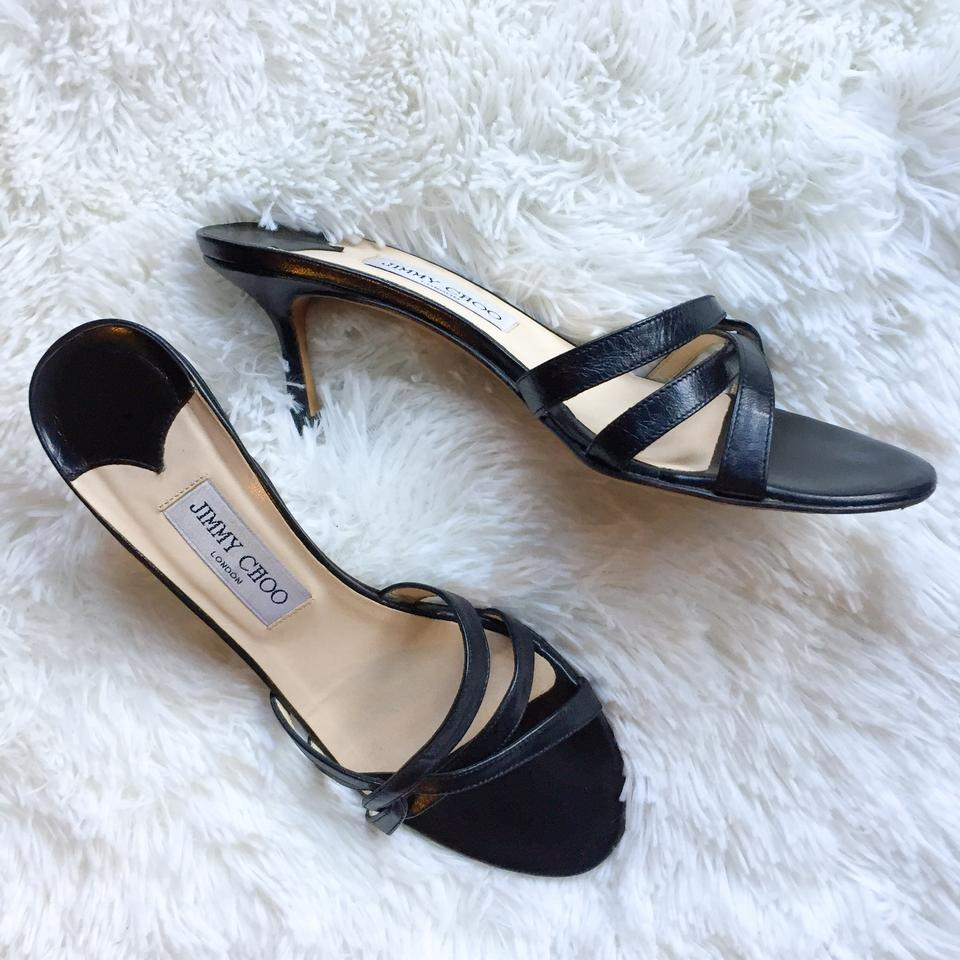 1087bb49403 Jimmy Choo Black Kel Pumps Size EU 38.5 (Approx. US 8.5) Regular (M ...