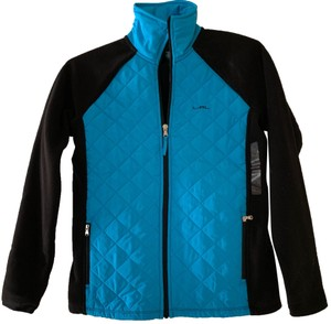 Polo Ralph Lauren black and turquoise Jacket