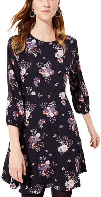 Ann Taylor LOFT Wildflower Flounce Dress*nwt Short Casual Dress Size Petite 6 (S) Ann Taylor LOFT Wildflower Flounce Dress*nwt Short Casual Dress Size Petite 6 (S) Image 1