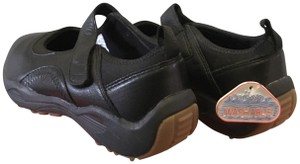 Propet Wash & Wear Sneakers Mary Jane Black Athletic