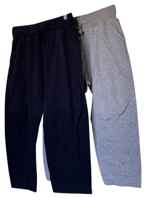 adidas Gray and Navy Activewear Size 12 (L) adidas Gray and Navy Activewear Size 12 (L) Image 1