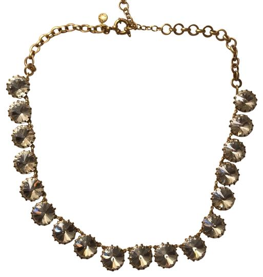 Preload https://img-static.tradesy.com/item/25007106/jcrew-clear-stone-with-gold-necklace-0-1-540-540.jpg