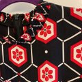 Sandro short dress Black with red and white print. on Tradesy Image 5