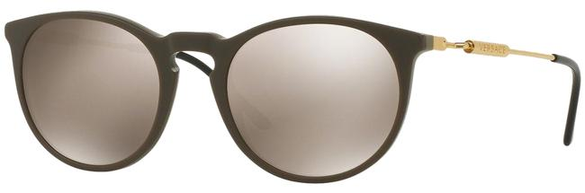 Item - Sand Green Gold Ve4315a 5198/5a 4315 52mm Italy Sunglasses