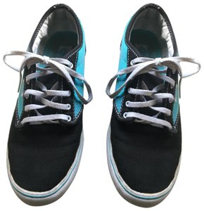 Vans black and turquoise Athletic