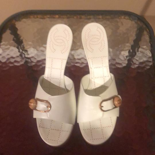 Chanel white Sandals Image 2