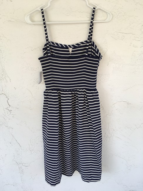 Old Navy short dress Navy Blue and White Stripe on Tradesy Image 1