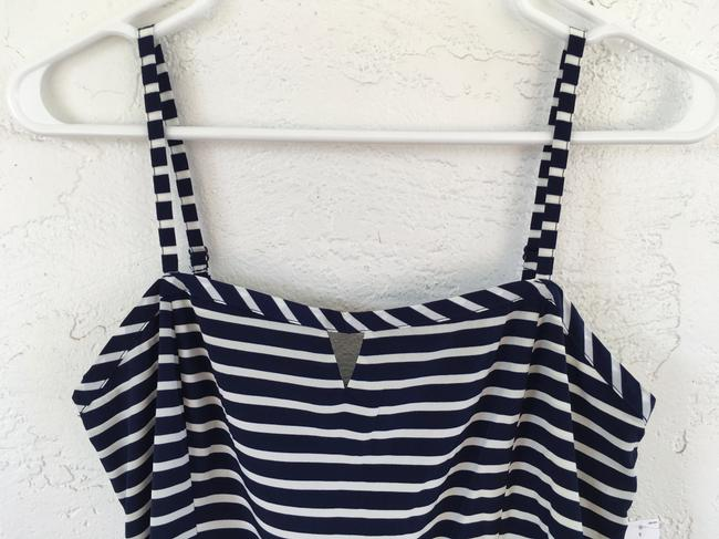 Old Navy short dress Navy Blue and White Stripe on Tradesy Image 3