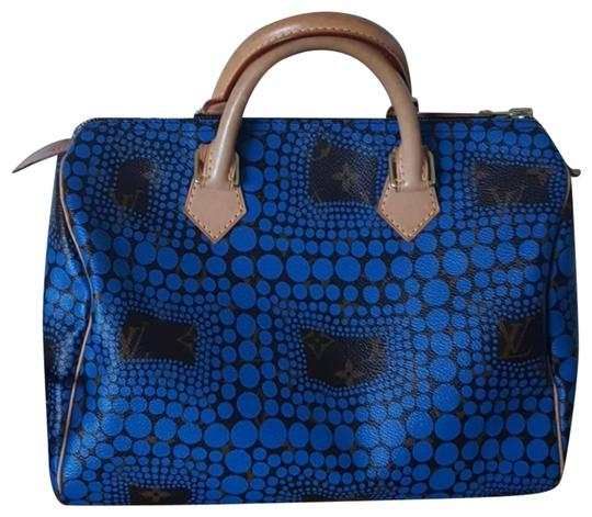 Preload https://img-static.tradesy.com/item/25007336/louis-vuitton-speedy-yayoi-kusama-satchel-0-2-540-540.jpg