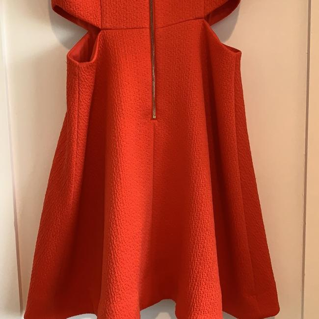 Club Monaco Orange Dress With Cutouts Dress Image 6