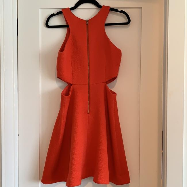 Club Monaco Orange Dress With Cutouts Dress Image 7