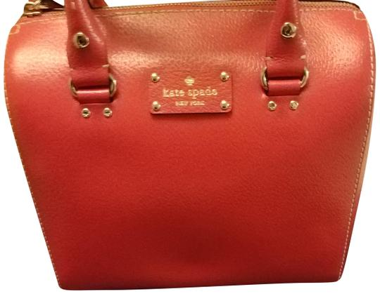 Preload https://img-static.tradesy.com/item/25007394/kate-spade-empirered-leather-satchel-0-1-540-540.jpg
