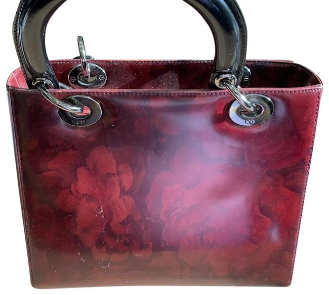 Item - Vintage Lady Red Patent Leather Tote