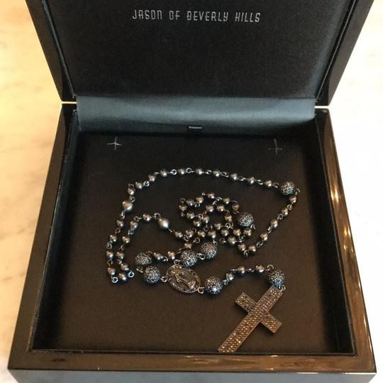 Jason of Beverly Hills Gold/Diamond Rosary Image 2