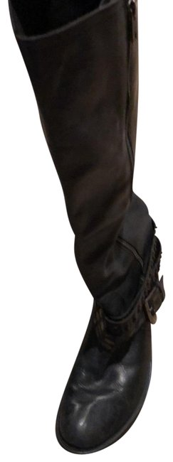 Item - Black Leather Boots/Booties Size EU 40 (Approx. US 10) Regular (M, B)