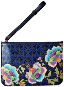 Liberty of London Ll Floral Tropical Blue Clutch