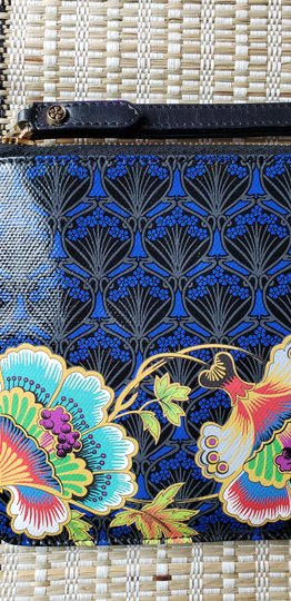 Liberty of London Ll Floral Tropical Blue Clutch Image 1
