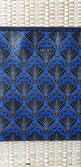Liberty of London Ll Floral Tropical Blue Clutch Image 2