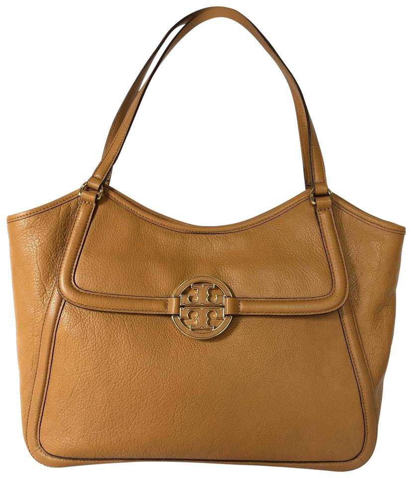 2519e246615 Tory Burch Amanda Medium Tan Leather Tote - Tradesy