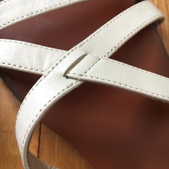 Firth White Sandals Image 1