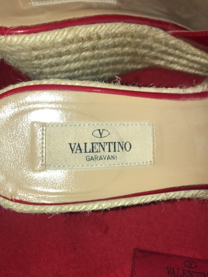 Valentino red Wedges Image 5