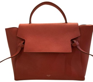 Céline Satchel in Rust (red)