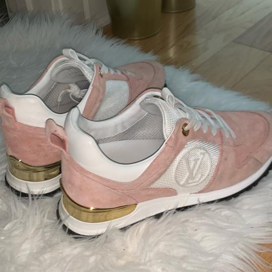 Louis Vuitton pink and white Athletic Image 3