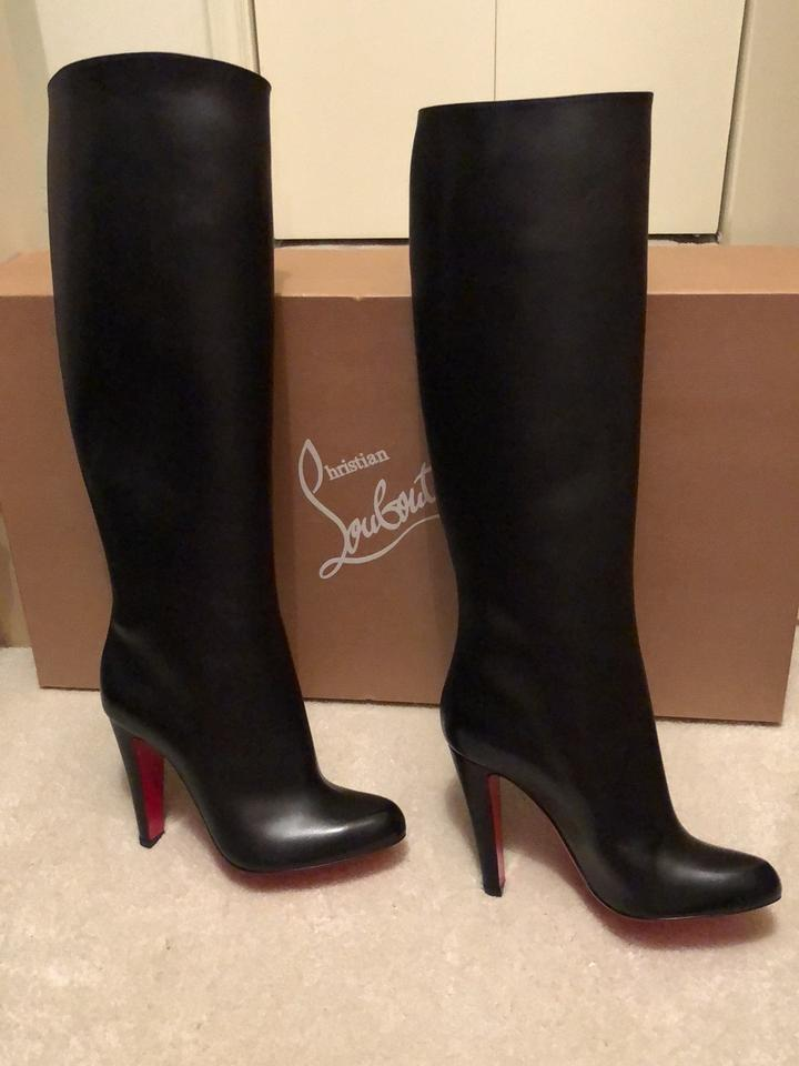 size 40 eed45 6510d Christian Louboutin Black Marmara 3180895 Boots/Booties Size EU 36 (Approx.  US 6) Regular (M, B) 22% off retail